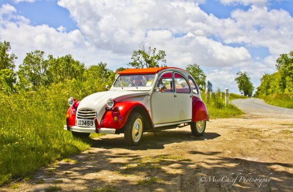 Titinne the red & white 2cv Dolly